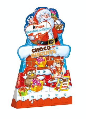 Calendrier Kinder Choco + Biscuits