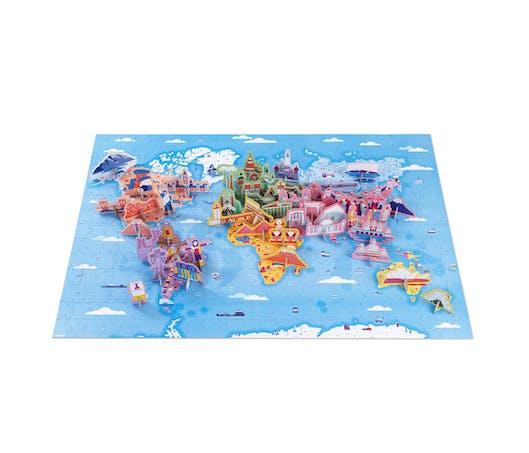 Puzzle éducatif géant