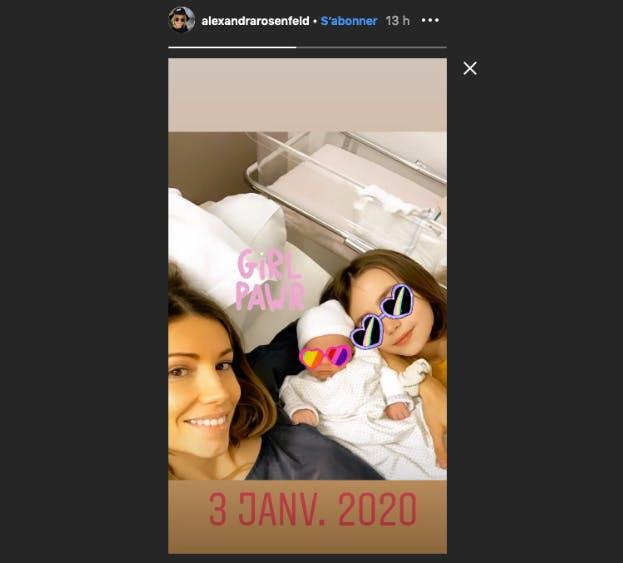 alexandra rosenfeld et ses filles