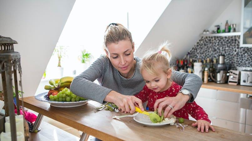 Les enfants sont plus susceptibles de bien manger grâce aux émissions de cuisine montrant des aliments sains