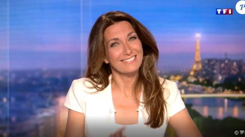 Anne-Claire Coudray raconte l'adorable réaction de sa fille quand elle voit sa maman à la télé