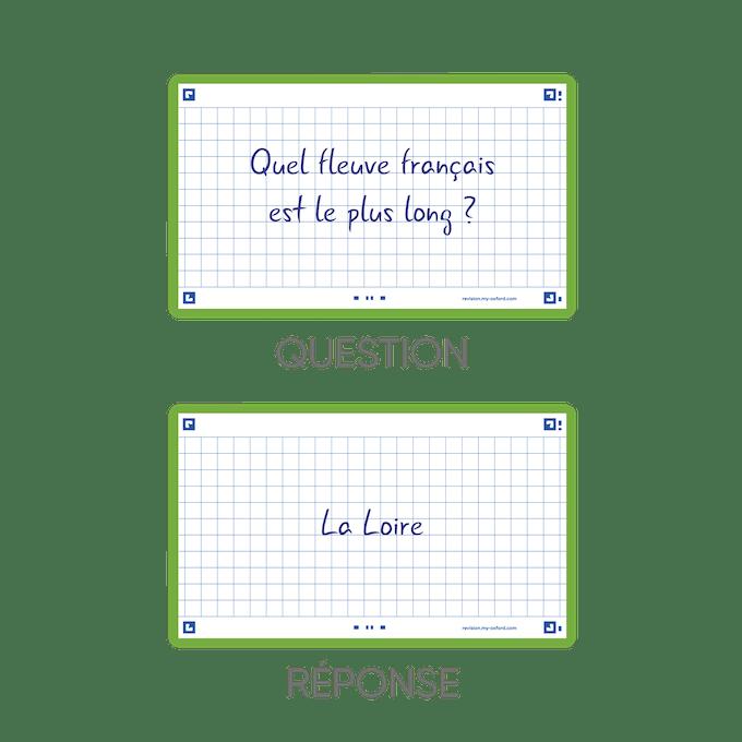 question réponse Oxford Cartes Flash 2.0
