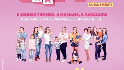 """Série """"Les Mamans"""" sur 6ter : Méghane prépare l'arrivée du bébé"""