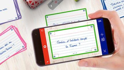 Les Cartes Flash 2.0 : la nouvelle papeterie connectée d'OXFORD