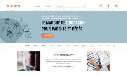 Nuuns, un nouveau service en ligne pour acheter son matériel de puériculture d'occasion