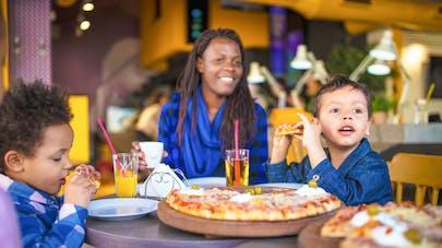 enfant et pizzeria