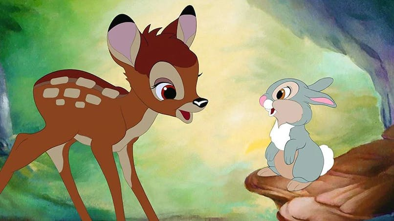 Disney prépare un remake en live-action du dessin animé Bambi