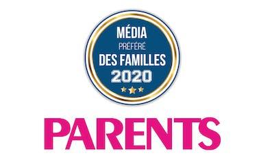 PARENTS élu Média préféré des Familles en 2020