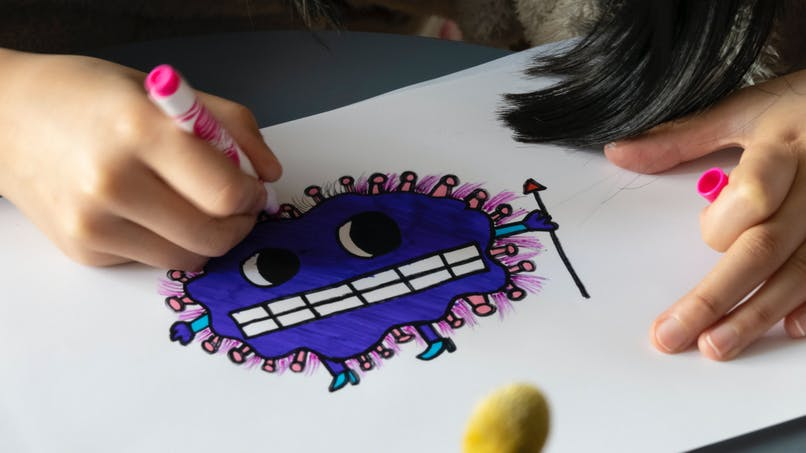 Coronavirus : il faut en parler aux enfants, explique un expert britannique