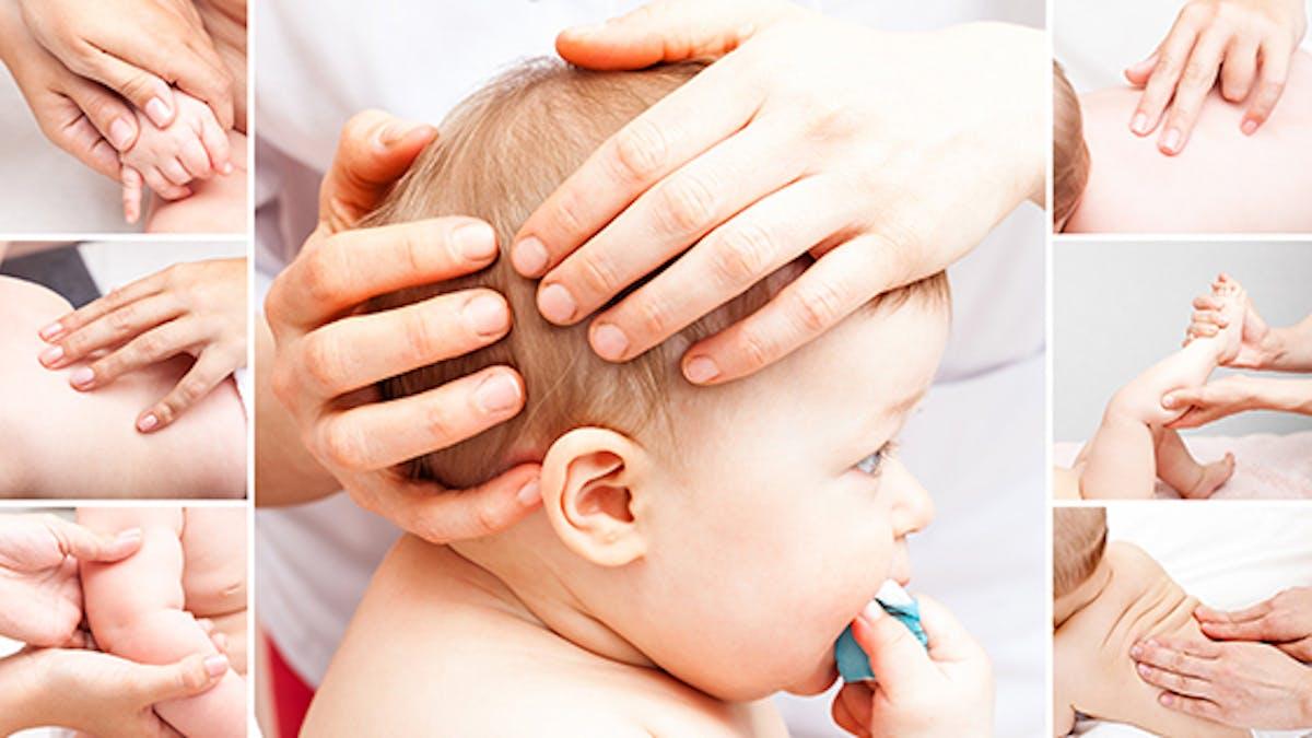 ostéopathie sur le nouveau-né