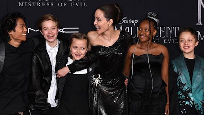 Angelina Jolie révèle que deux de ses filles ont été récemment opérées