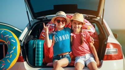 enfants et vacances