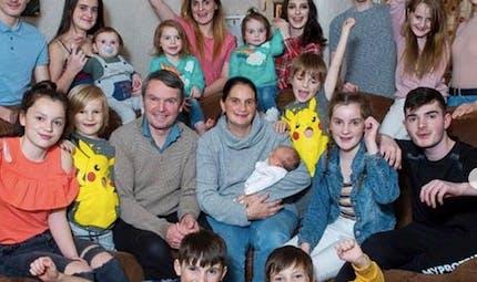 Naissance : la plus grande famille d'Angleterre vient d'accueillir son 22e enfant !
