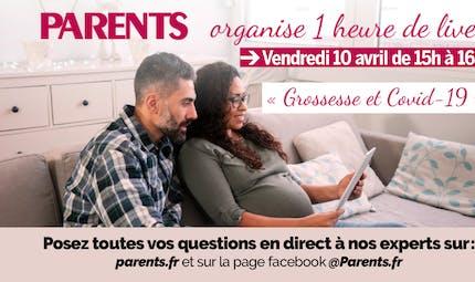 Grossesse et Covid-19 : Parents.fr organise un Live !