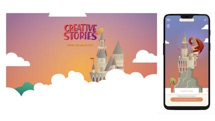 Creative Stories : l'application mobile qui accompagne les parents à créer des histoires interactives pour enfants