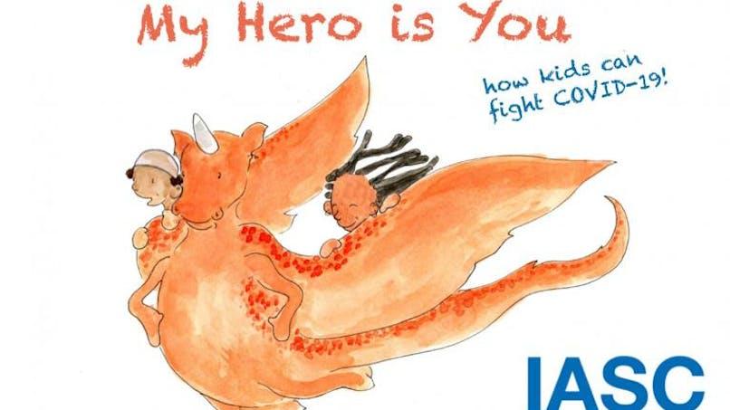 «Mon héroïne, c'est toi»: un livre pour aider les enfants à faire face au COVID-19 