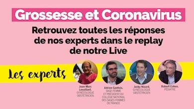 "Live Parents ""Grossesse et Coronavirus"" : le replay"