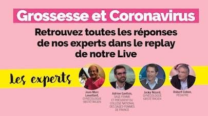 live Parents Grossesse et coronavirus