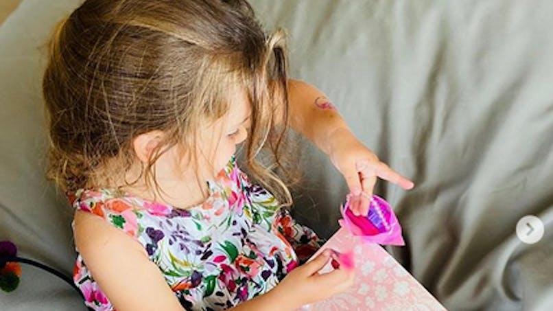 Amélie Mauresmo fête les 3 ans de sa fille Ayla avec une jolie fête à la maison
