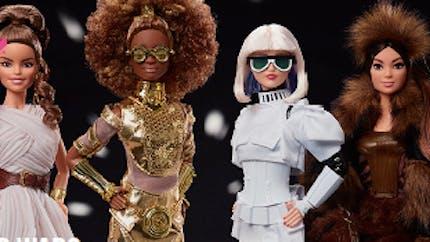 Jouets : Barbie se décline dans une collection Star Wars