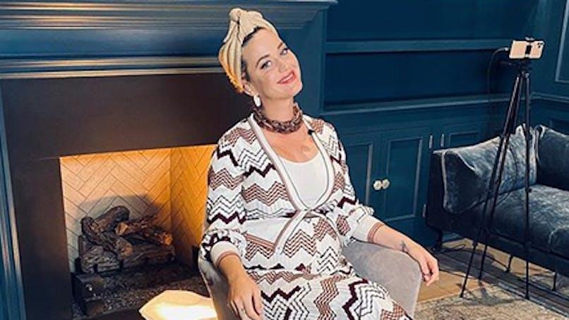 Katy Perry partage une amusante échographie de son bébé