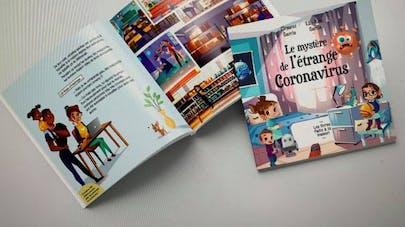 livre sur le coronavirus