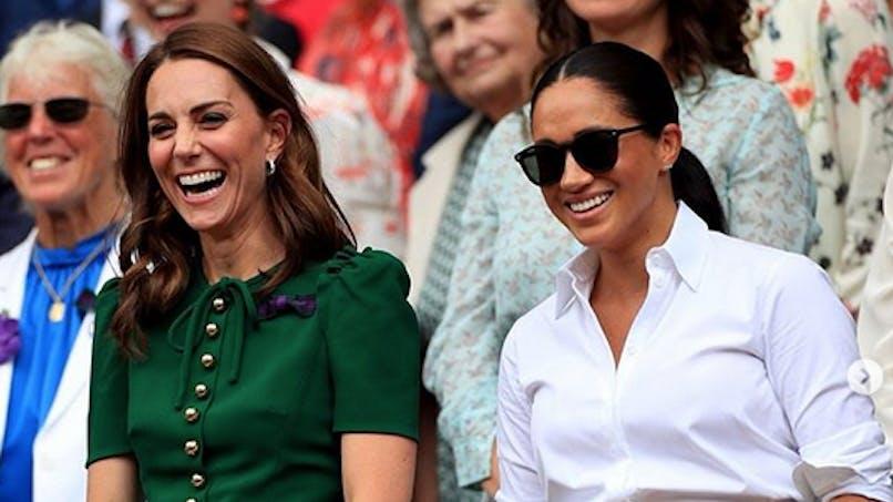 Kate Middleton et Meghan Markle : des collants seraient à l'origine de leur dispute