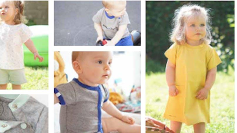 """Mode enfant: """"Papa m'habille"""", une marque mixte et bio!"""