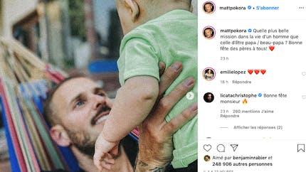 Matt Pokora, prince Harry, Dimitri Payet... la Fête des pères chez les stars