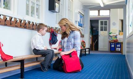 Première rentrée à la maternelle : pas de pré-visite de classe pour les enfants