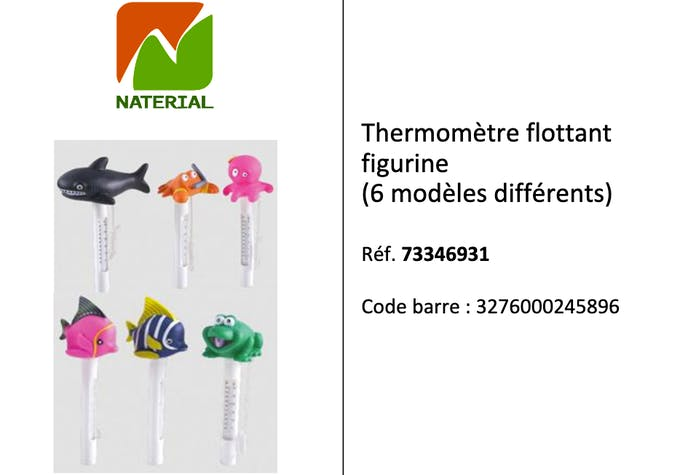 rappel thermometres