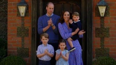 kate william et leurs enfants