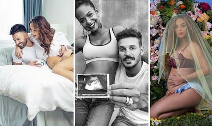 Les plus belles annonces de grossesse de stars en photos