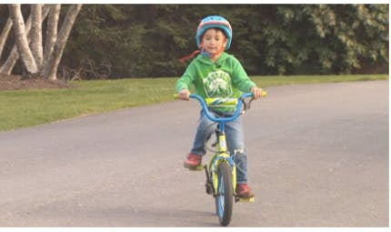 A 3 ans, un petit garçon sauve sa voisine !