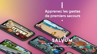 L'application Salvum : pour apprendre les gestes qui sauvent !