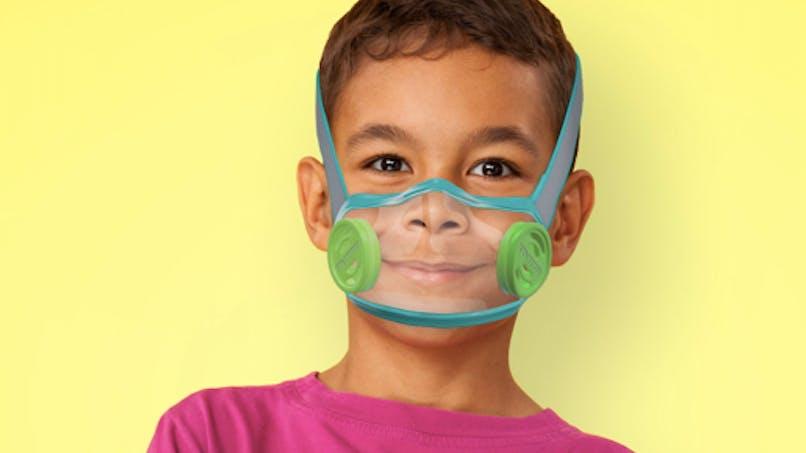 Covid-19 : un masque transparent pour voir le sourire