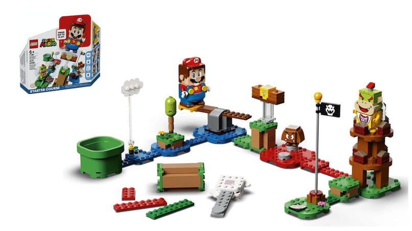 LEGO® Super Mario™ : créez dans le monde réel les niveaux du jeu Super Mario
