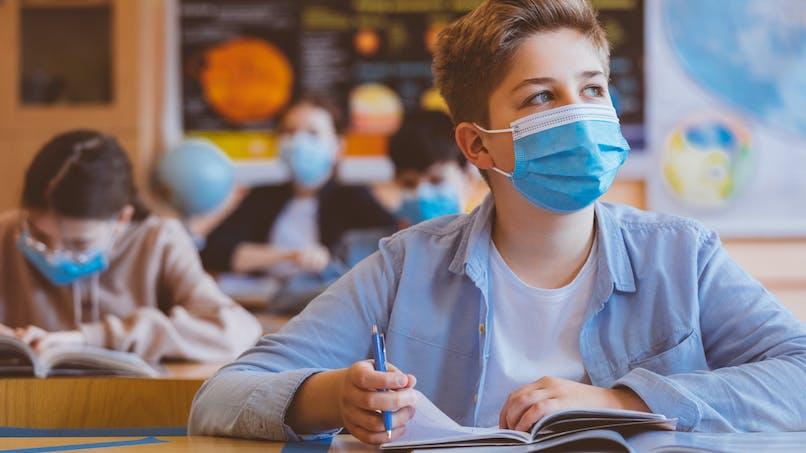 Rentrée des classes : 2 masques lavables gratuits pour les lycéens d'Ile-de-France