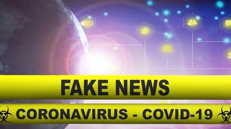 Covid-19 : les utilisateurs des réseaux sociaux sont plus susceptibles de croire aux fake news.