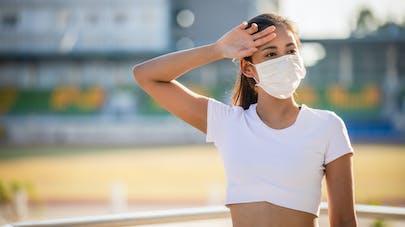 masque et chaleur