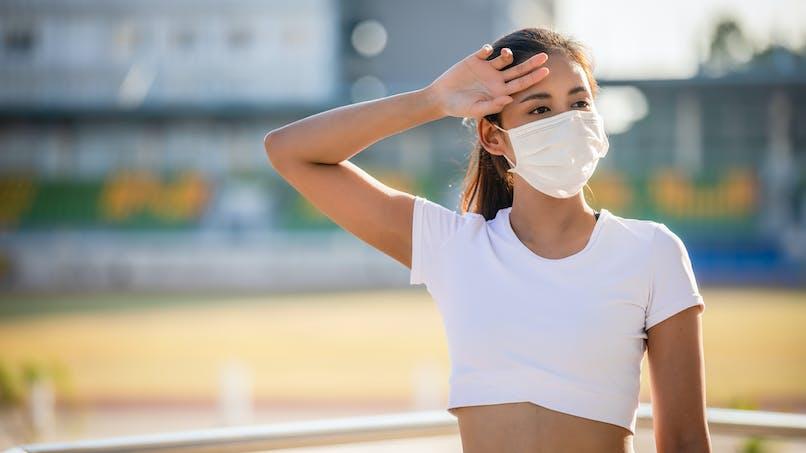 Masque et coronavirus : l'erreur à ne pas faire quand il fait chaud