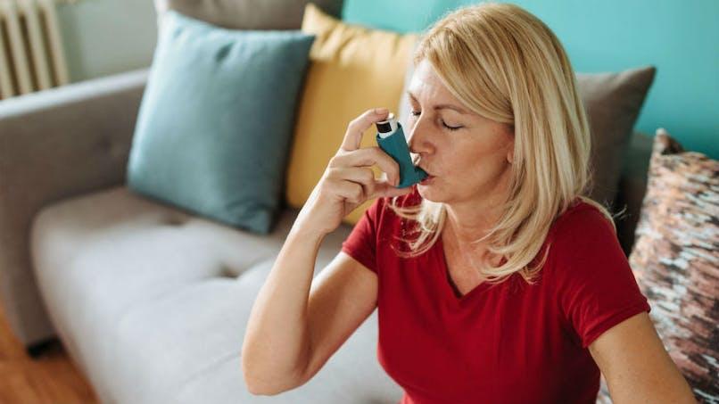 L'asthme ne serait pas un facteur aggravant pour les cas de COVID-19