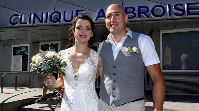 Toulouse : elle se marie à l'hôpital pour être avec son papa malade