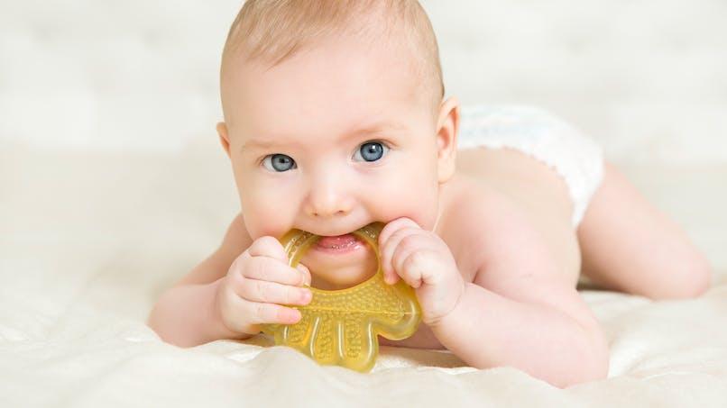 Rappel d'anneaux de dentition pour bébés chez Oxybul, pour risque d'étouffement
