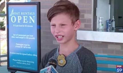Ce garçon de 9 ans a reçu 5 000 demandes d'adoption après une interview déchirante