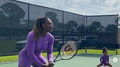 Serena Williams et sa fille