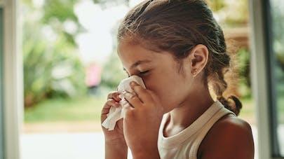 enfant rhume