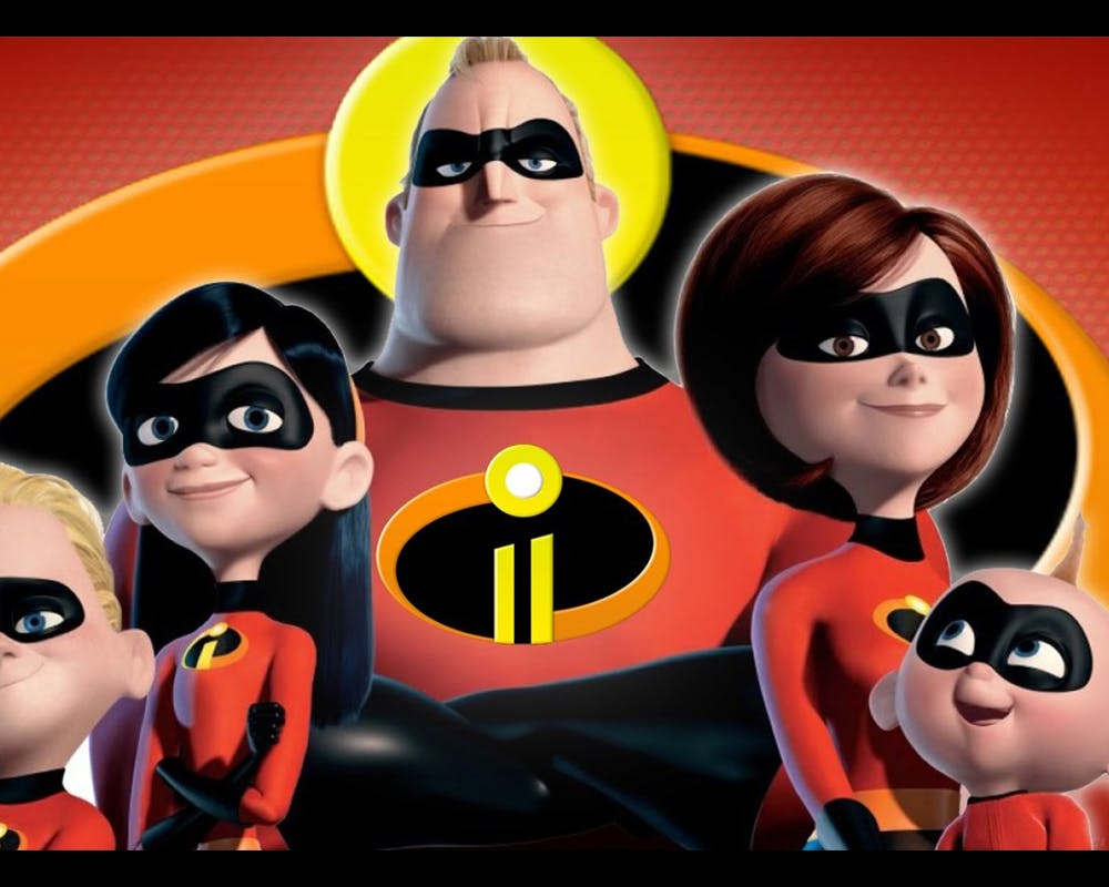 mamans de dessins animés Elastigirl Les Indestructibles