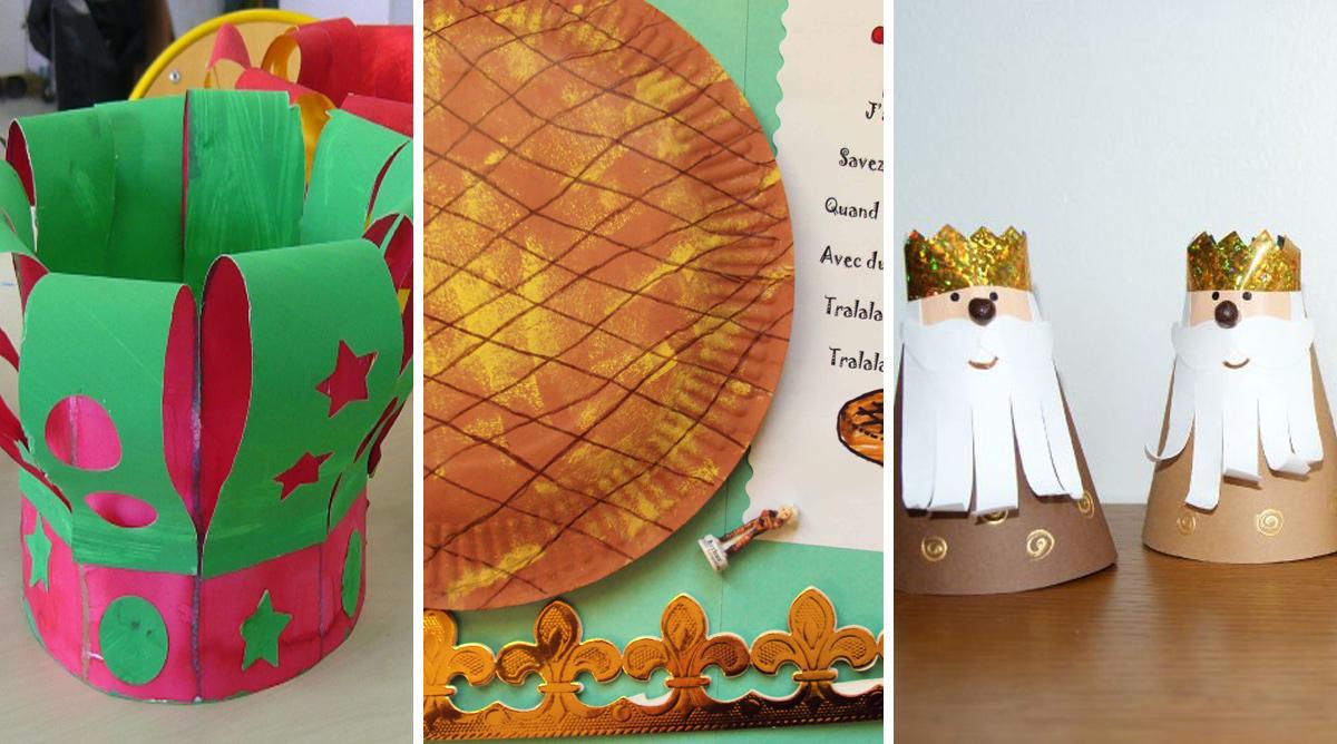 10 idées créatives pour fêter l'épiphanie en maternelle
