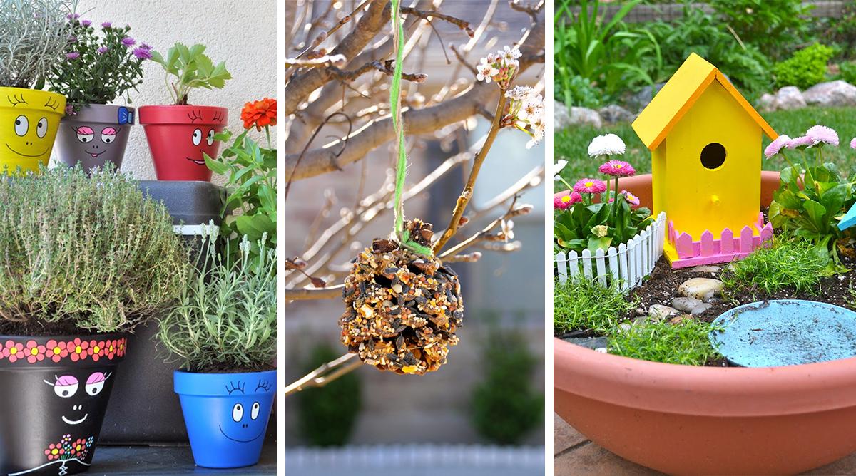 15 idées d'activités jardinage à faire avec les enfants